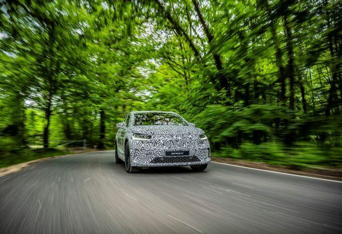 L'Enyaq iV camouflé pour l'anniversaire de Škoda #1