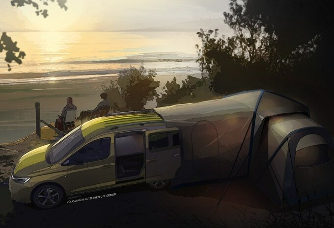 Volkswagen Caddy Beach: mini-California voor september #1