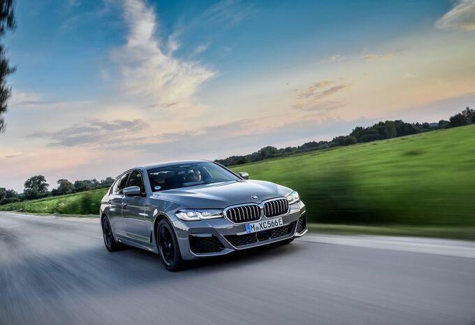 BMW 545e xDrive Sedan: plug-inhybride V8-alternatief #1