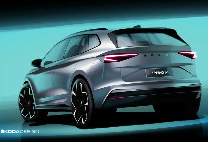 La Škoda Enyaq iV se dévoile de plus en plus #1