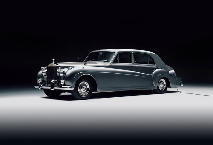 Deze elektrische Rolls-Royce uit 1961 is de perfecte LEZ-limo #1
