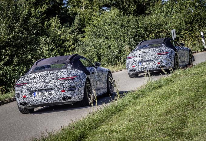 Mercedes-AMG SL : les prototypes en balade #1