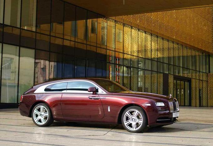 Une Rolls-Royce Wraith en brake de chasse, et c'est du Belge #1