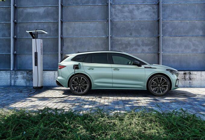 Škoda Enyaq iV : le SUV électrique rétroéclairé #1