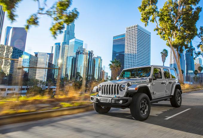 Jeep Wrangler 4xe: plug-in hybride off-roader #1