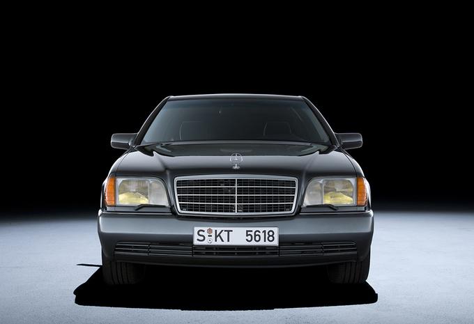 Mercedes 800 SEL is S-Klasse met W18-motor #1