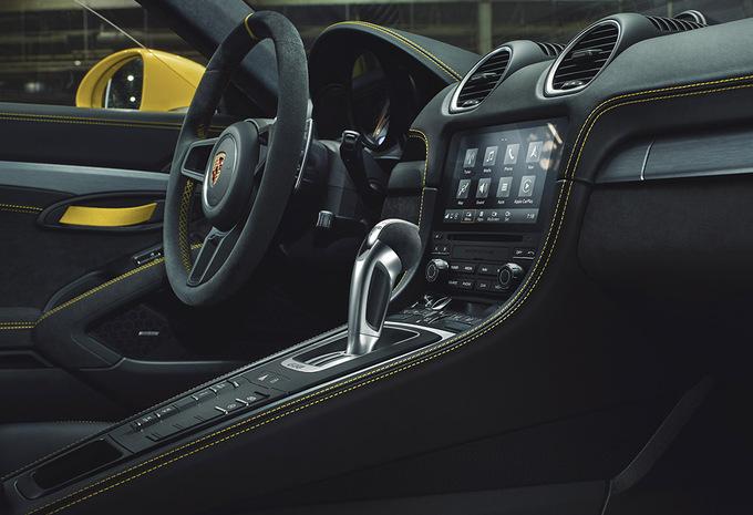 Les Porsche Cayman GT4 et 718 Spyder adoptent la boîte PDK