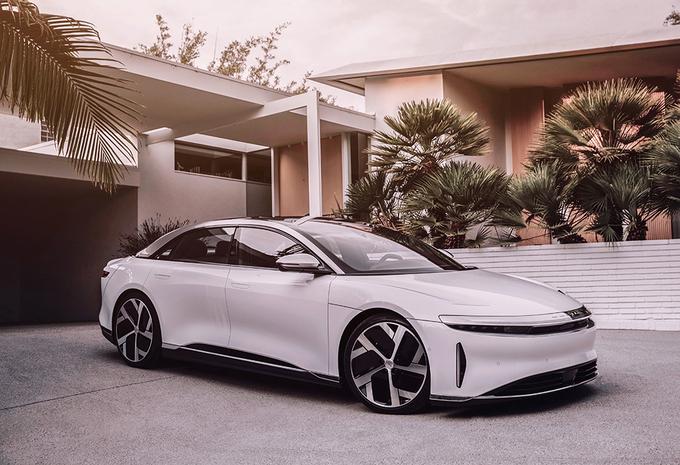 Officieel: elektrische Lucid Air wil Model S en Taycan lesje leren #1