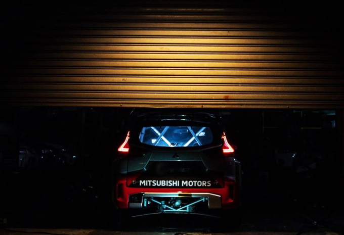 Plant Mitsubishi een comeback in het WRC? #1