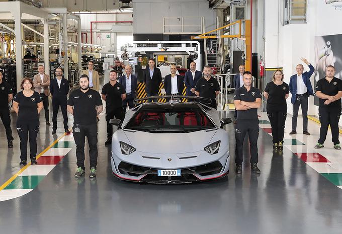 Record pour Lamborghini avec 10.000 Aventador vendues dans le monde #1