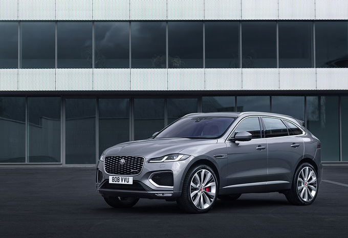 Jaguar F-Pace : facelift et version hybride rechargeable #1