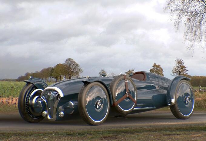 Helvezzia Tipo-6 is elektrische concept met '40s-design #1