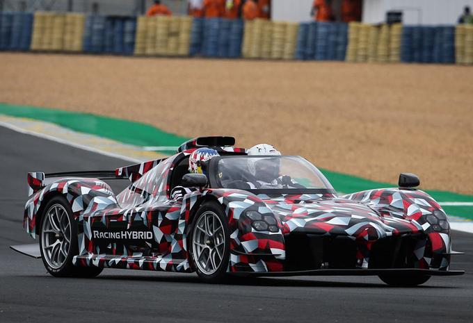 Toyota présente la GR Super Sport hybride au Mans #1