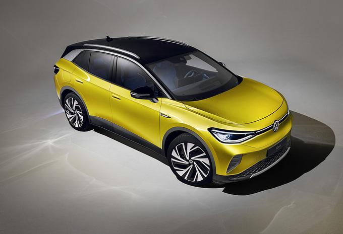 La Volkswagen ID.4 débute avec une batterie de 77 kWh #1