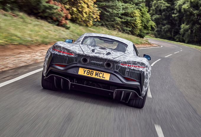 McLaren: laatste testfase hybride supercar #1