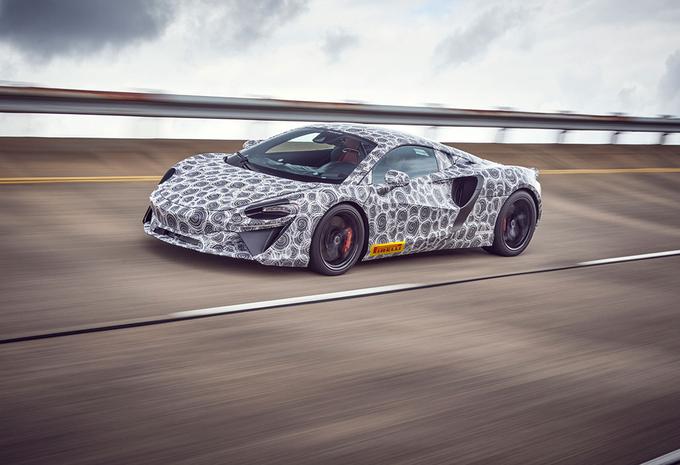 McLaren : derniers tests pour la supercar hybride #1