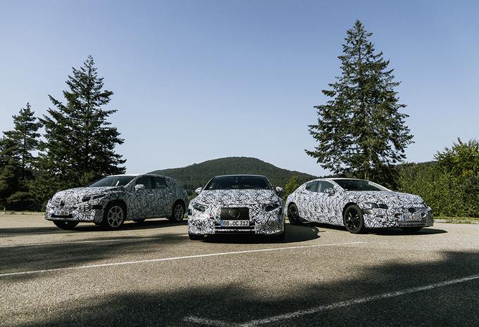 Mercedes : la gamme EQ sort des sentiers battus #1