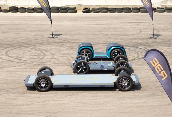 REE Automotive presenteert modulair platform voor EV's #1