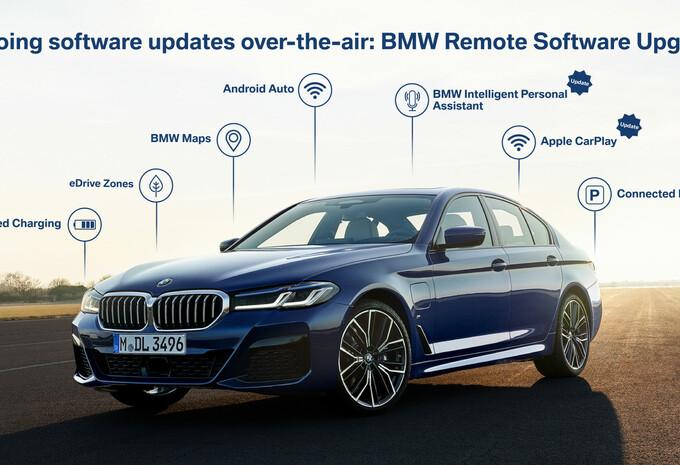 BMW geeft 750.000 auto's update vanop afstand #1