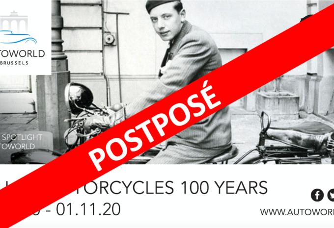 Centenaire des motos Gillet Herstal à Autoworld : exposition reportée #1