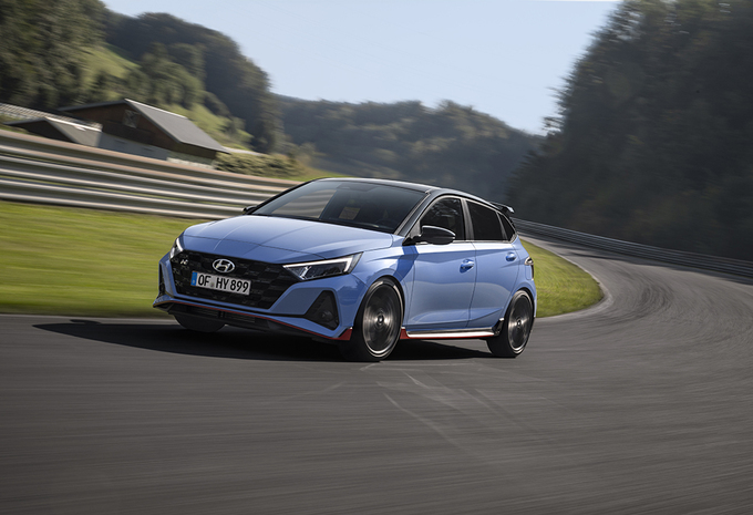 Hyundai introduceert i20 N, erfgenaam van de WRC #1