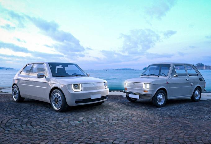Elektrische Fiat 126 is Italiaanse Honda E #1