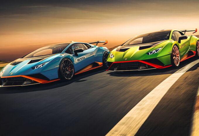 Lamborghini dévoile la Huracan STO #1