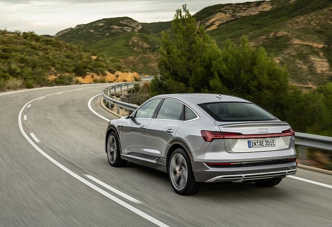 Audi E-Tron 2021 : recharge plus puissante et plus rapide #1