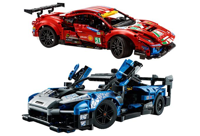 Ferrari of McLaren: welke nieuwe Lego Technic kies jij? #1