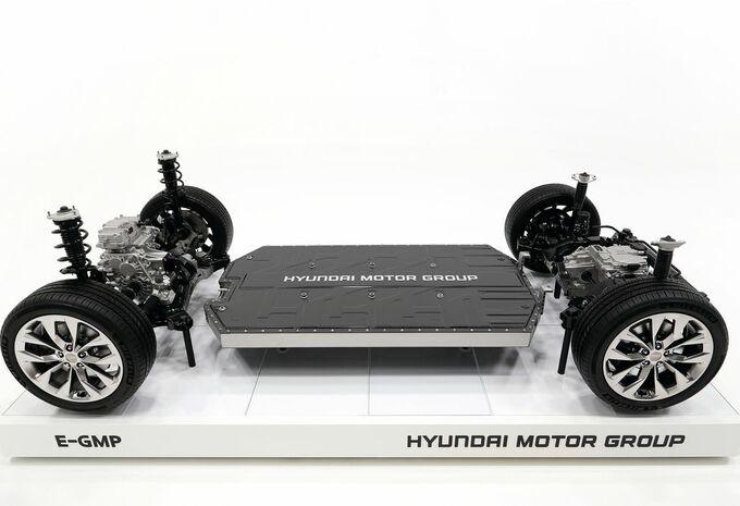 E-GMP : la plateforme électrique 400-800 V de Hyundai #1