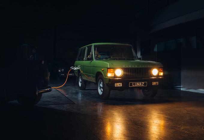 Lunaz elektrificeert klassieke Range Rovers #1