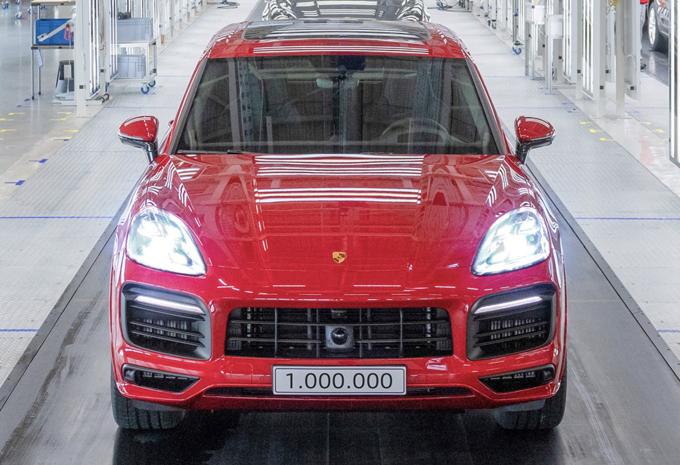 Porsche, 1 million de Cayenne vendus #1