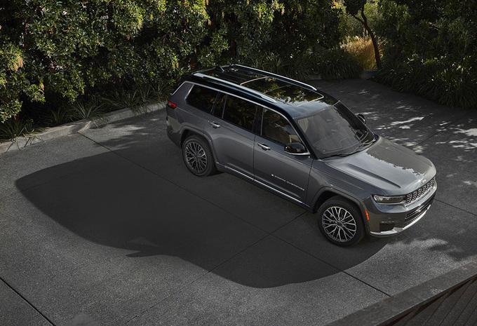 Officieel: nieuwe Jeep Grand Cherokee ook als plug-inhybride 4xe #1