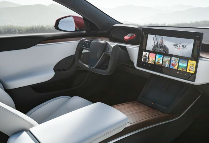 Tesla Model S : aux commandes d'un vaisseau #1