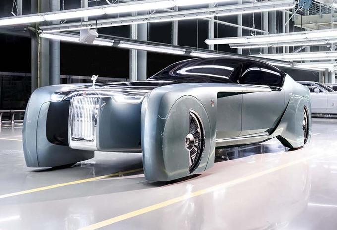 Rolls-Royce Silent Shadow, une première électrique ? #1