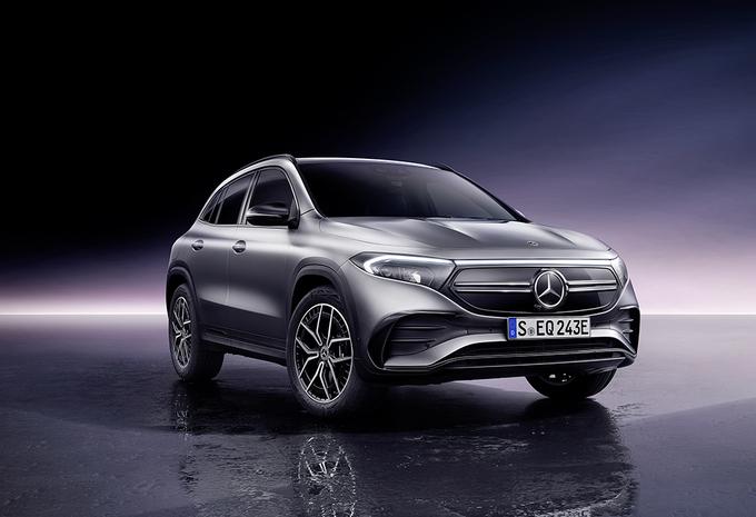 Mercedes GLA wordt elektrische EQA - UPDATE #1