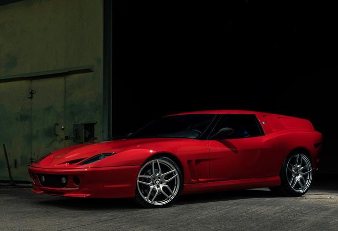 Breadvan Hommage: la Ferrari 550 Maranello en shooting brake #1