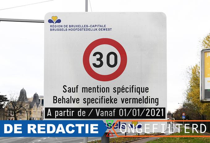 De redactie ongefilterd - 30 km/u in Brussel #1