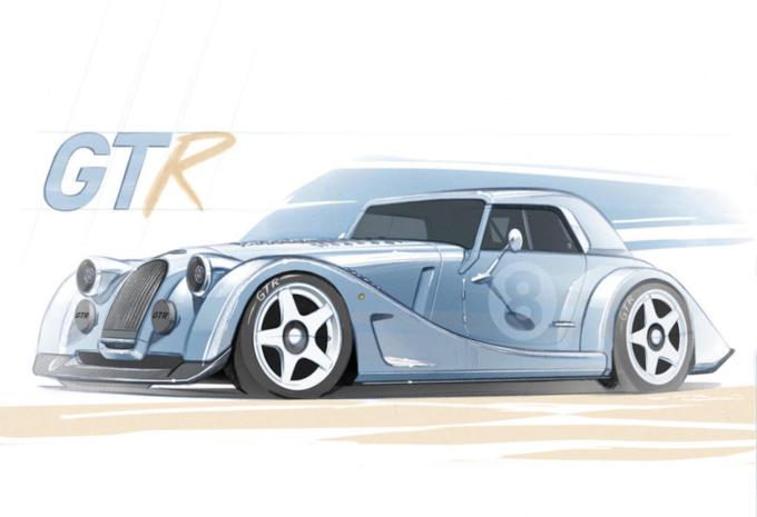 Morgan Plus 8 GTR: 9 exclusieve exemplaren #1