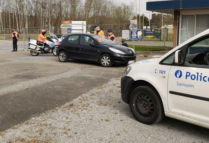 Sur le terrain avec la police pour les contrôles GSM #1