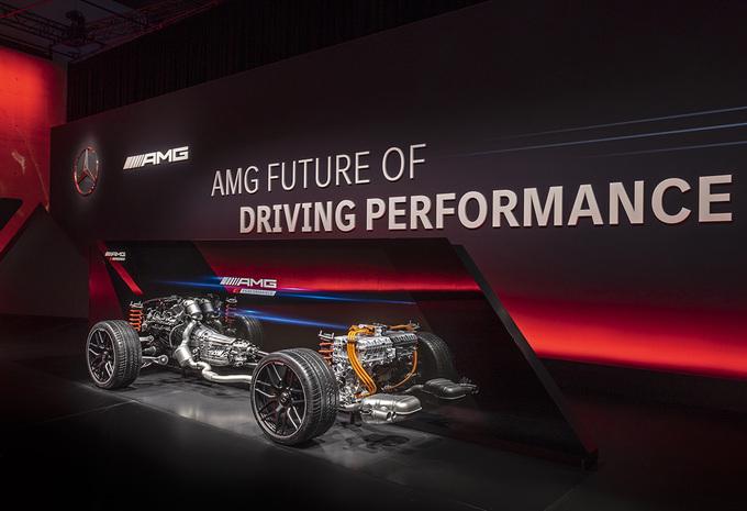 Mercedes-AMG Driving Performance : technologie hybride et électrique #1