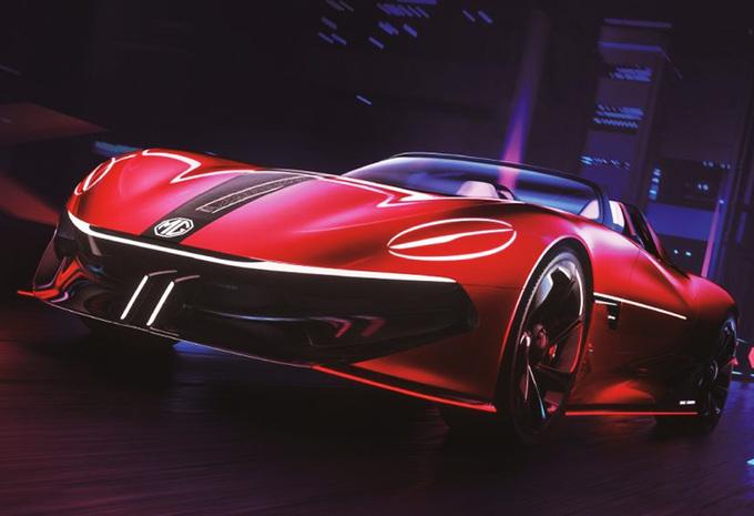 MG Cyberster Concept : le rêve d'un roadster électrique concrétisé #1