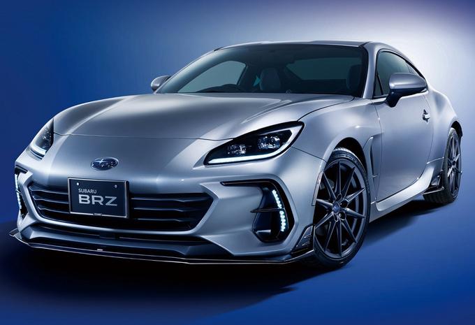 Nieuwe Subaru BRZ wel te bestellen als STI? #1