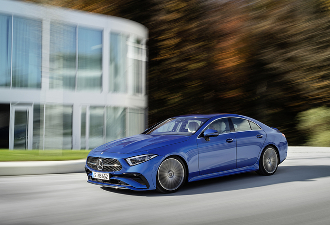 Mercedes CLS: kleine facelift voor grote vierdeurscoupé #1