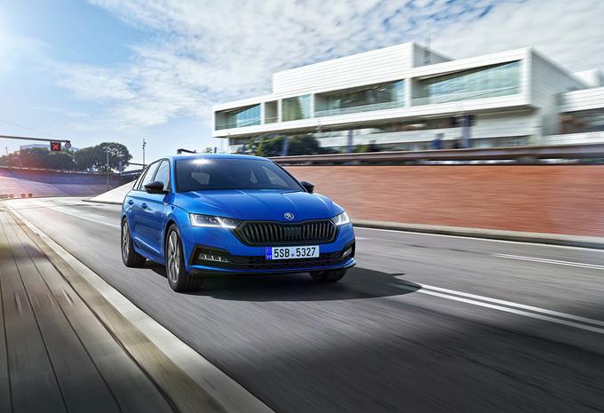 Škoda Octavia : en Sportline pour parader #1