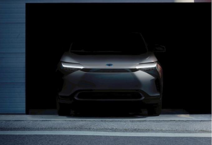 Toyota : sa première électrique sera un SUV compact #1