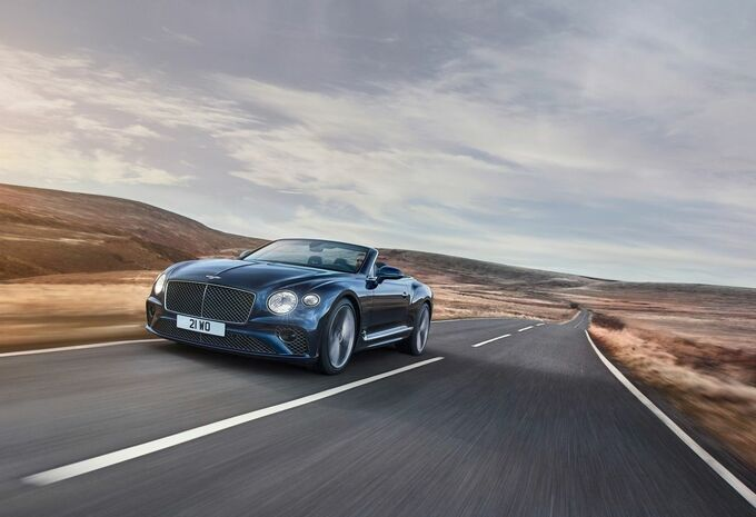 Bentley Continental GT Speed Convertible : avis de tempête #1