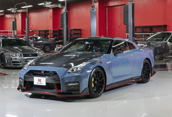 Coup de frais sur la Nissan GT-R Nismo au Japon #1