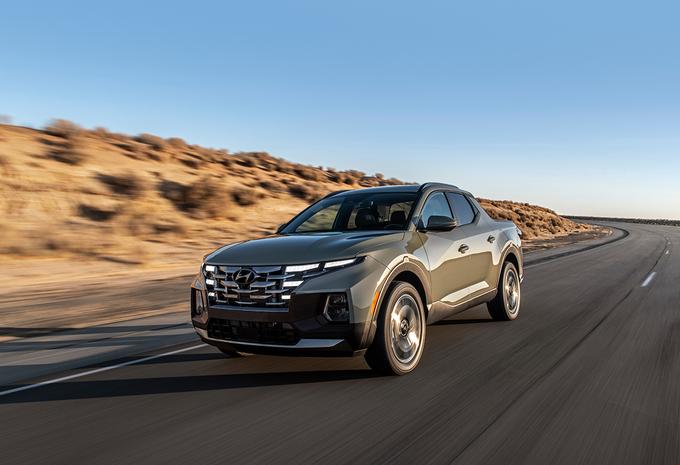Hyundai Santa Cruz is Tucson pick-up #1