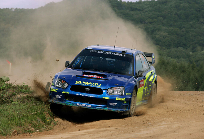 Koopje van de Week: 2004 Subaru Impreza S10 WRC Solberg #1